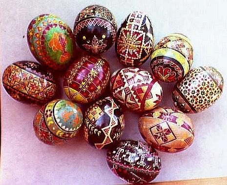 [ View 1 of Mary Koleski's pysanky ]