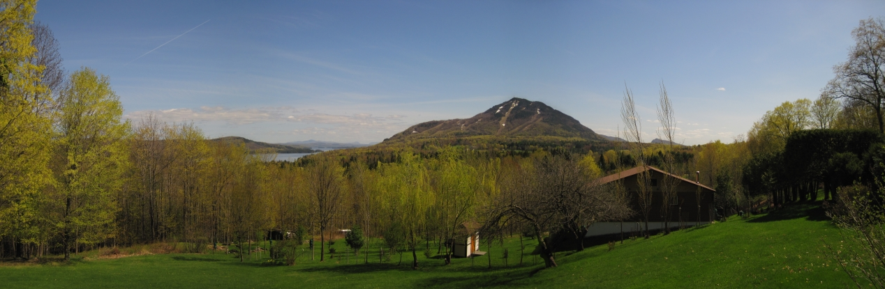 Mount Owl's Head and southward - May 12, 2011