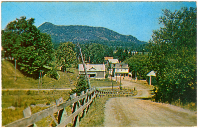 Postcard of Vale Perkins in 1950s